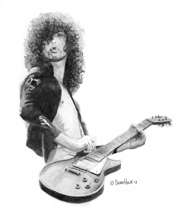 Jimmy Page par DHWallArtist